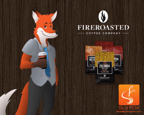 Fire Roasted Coffee - SlyFox Web Design and Marketing