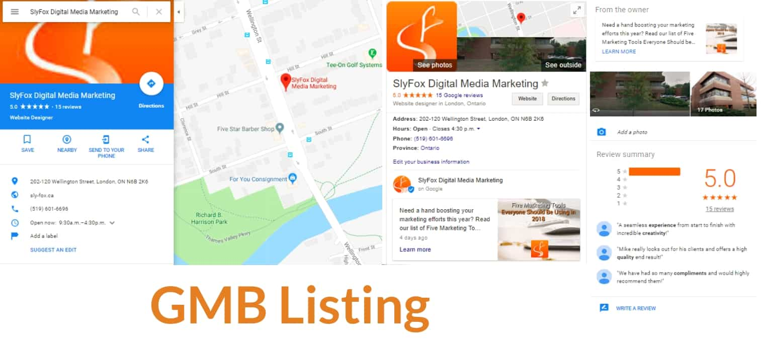 local seo GMB Listing