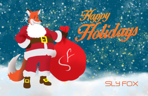 holiday card - SlyFox Web Design and Marketing