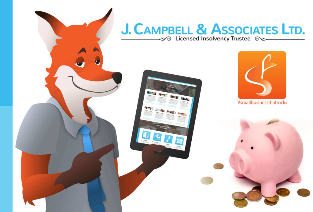 jcampbell associates feature image bankruptcy consumer proposal debt relief credit counselling - SlyFox Web Design and Marketing