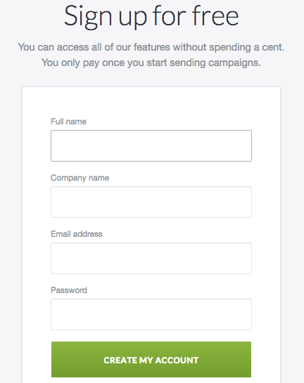 Lead Gen Form Landing Pages