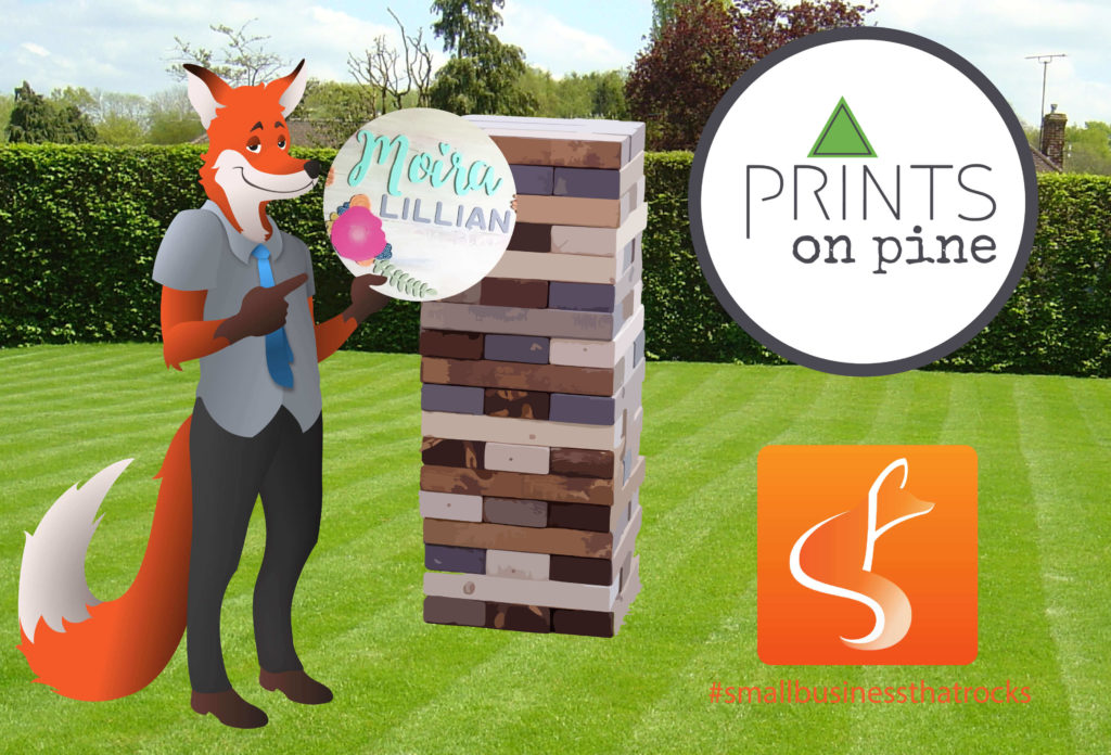 prints on pine - SlyFox Web Design and Marketing
