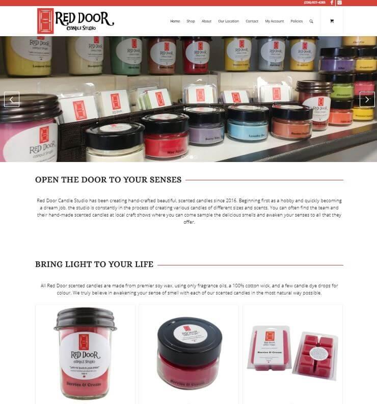 Red Door Candle Studio
