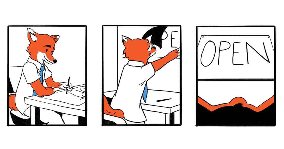 Opening a Business Comic