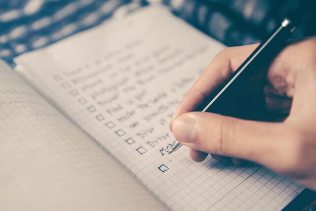 building a list