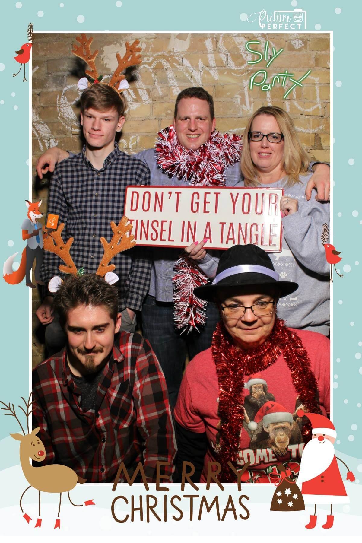 photo taken at slyfox christmas party