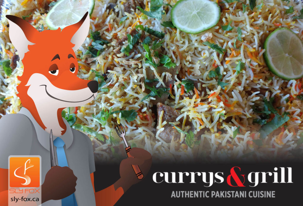 currys and grill header - SlyFox Web Design and Marketing
