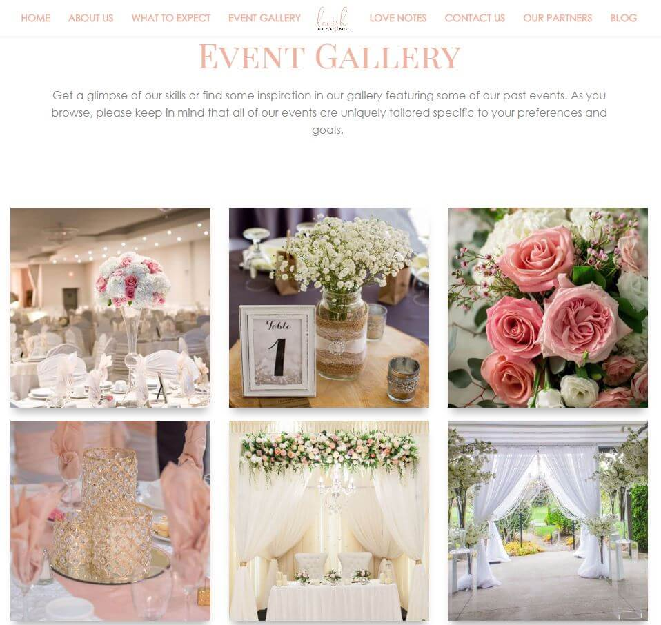Lavish Events by Design- Gallery