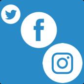 slyfox social media platforms logos - SlyFox Web Design and Marketing