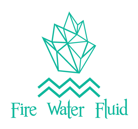 fire water fluid logo on transparent background - SlyFox Web Design and Marketing