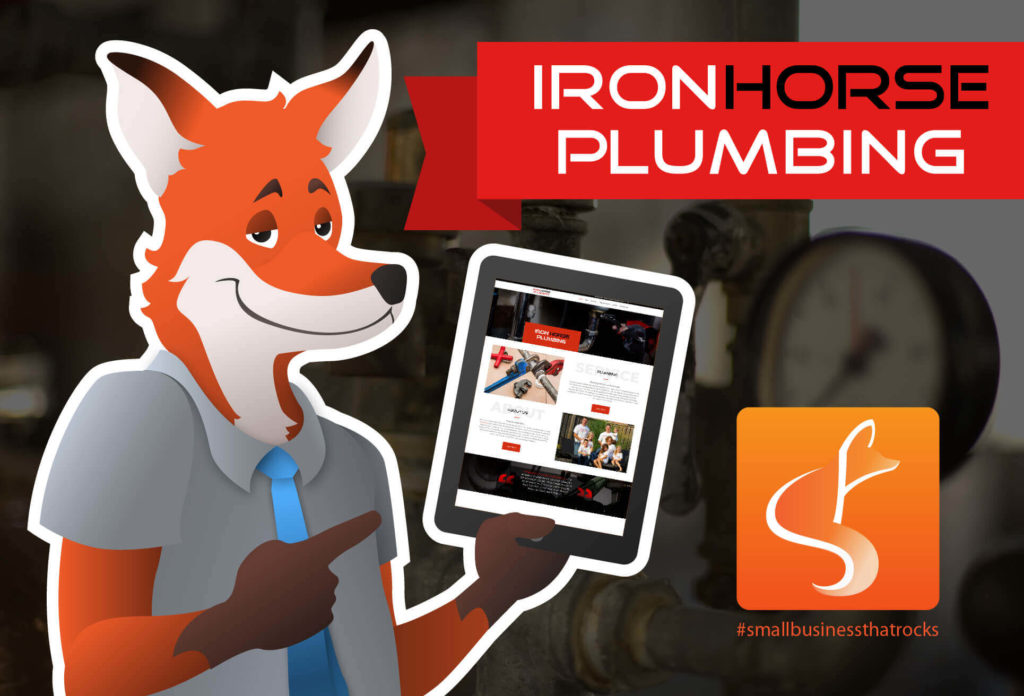 iron horse plumbing slyfox small business that rocks blog feature - SlyFox Web Design and Marketing
