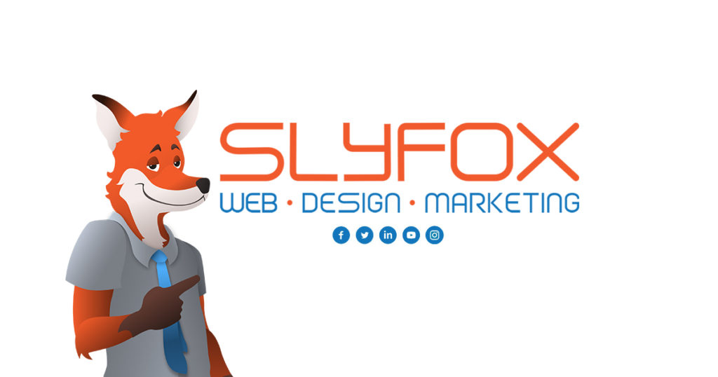 slyfox web design and marketing banner poster - SlyFox Web Design and Marketing