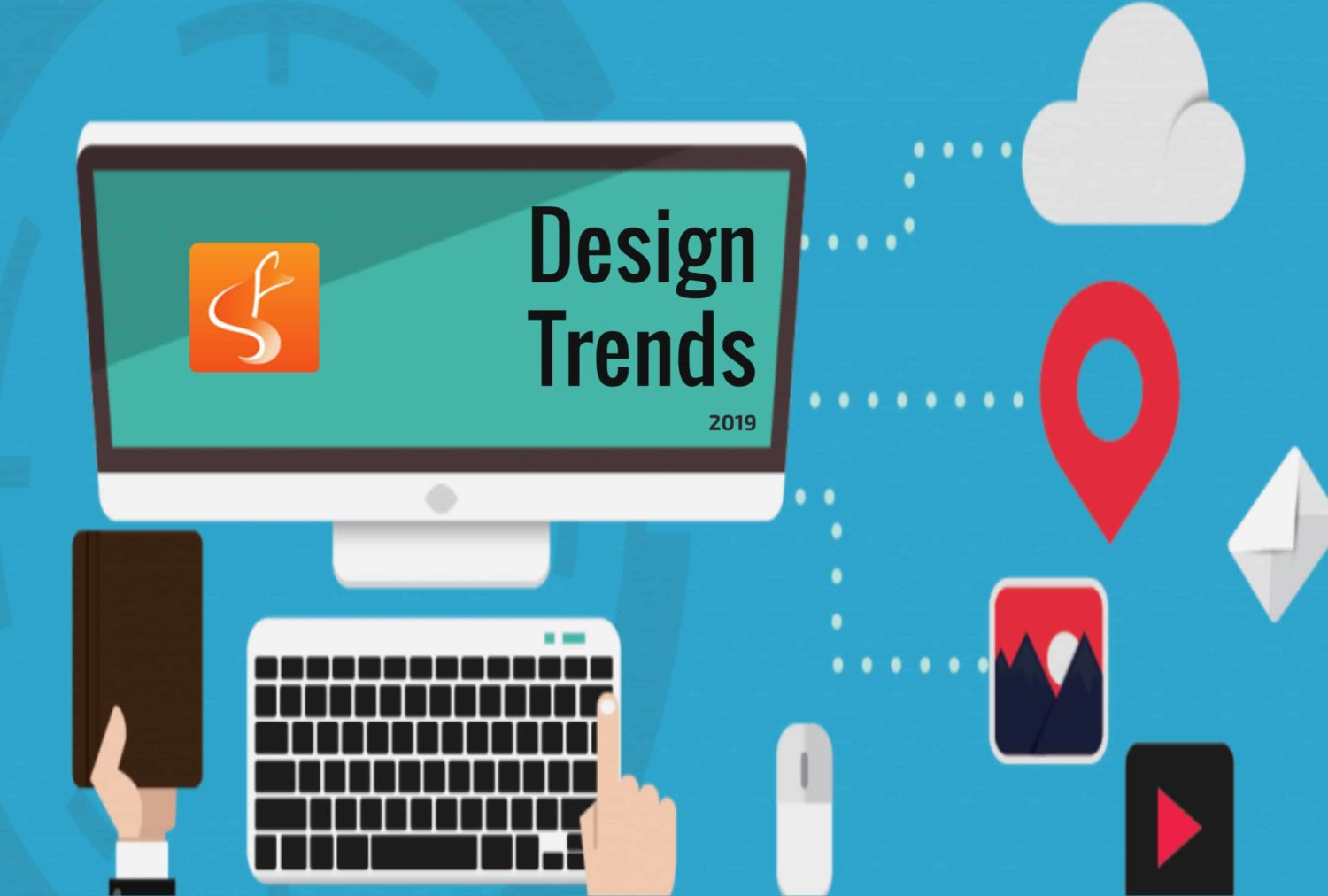 web design trends, design trends 2019, web design london ontario - SlyFox Web Design and Marketing
