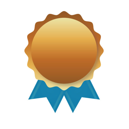 gold award ribbon - SlyFox Web Design and Marketing