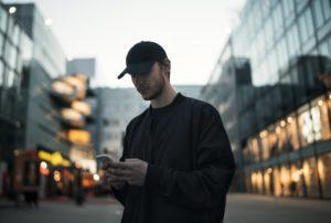 social media looking