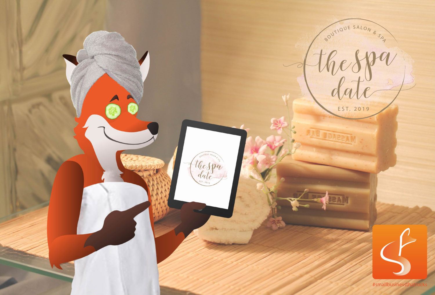 the spa date feature image - sly fox web design