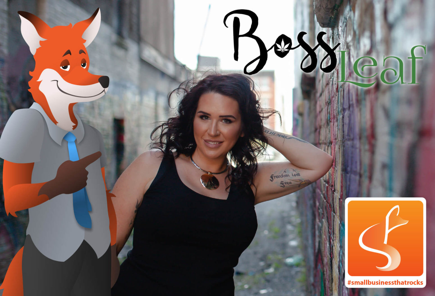 boss leaf small business that rocks blog feature - slyfox web design & marketing