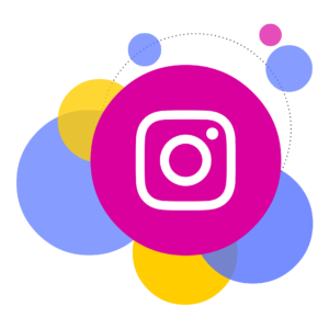 SlyFox Web Design & Marketing - Instagram Icon over colourful circles - blog image