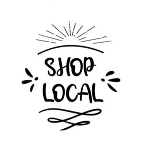 Shop local support local