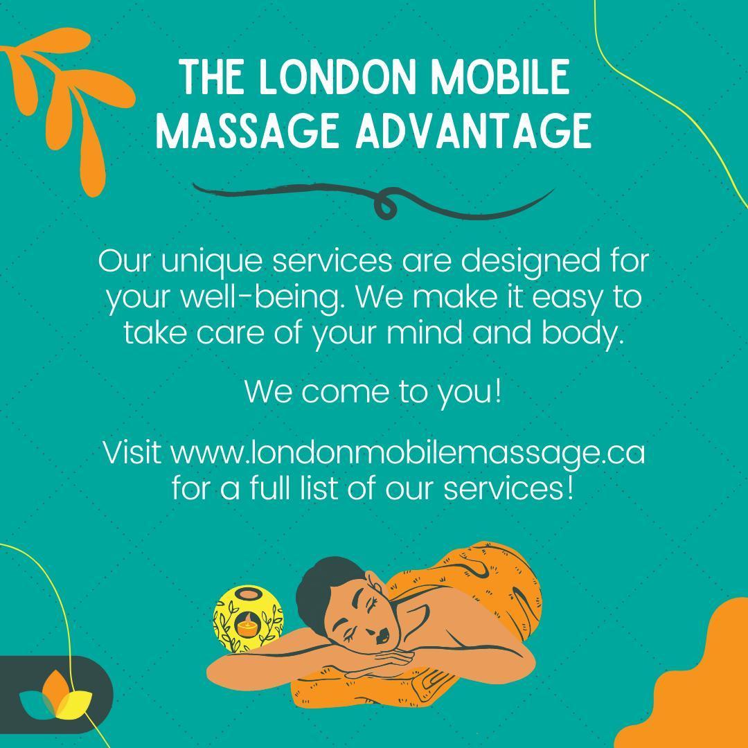 London Mobile Massage social post